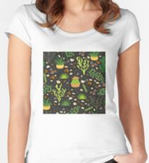 Prairie plants Fitted Scoop T-Shirt