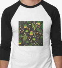 Prairie plants Baseball ¾ Sleeve T-Shirt