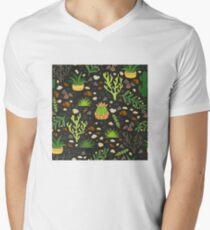 Prairie plants V-Neck T-Shirt