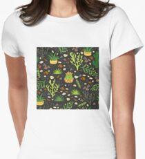 Prairie plants Fitted T-Shirt