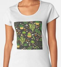 Prairie plants Premium Scoop T-Shirt