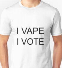 I VAPE I VOTE Slim Fit T-Shirt