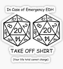 EDH Challenge  Sticker