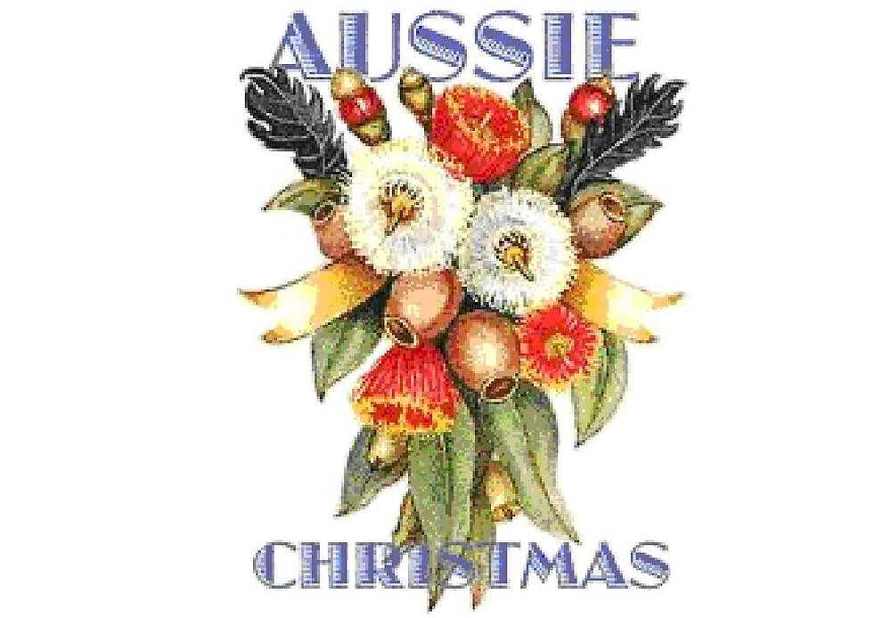 Quot Aussie Christmas Posy Quot By Adgray Redbubble