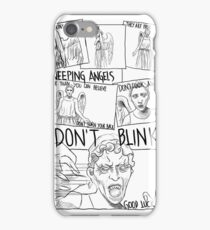 Weeping Angel Comic iPhone Case/Skin