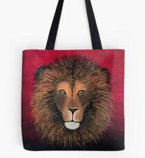 Lion Painting Print Tote Bag