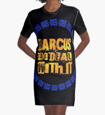 MARCUS says DEAL WITH IT - III Graphic T-Shirt Dress