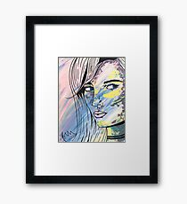 They Call Her Poppy - Acrylic Painting Print Framed Print