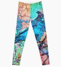 The Atlas of Dreams - Color Plate 233 Leggings