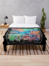 The Atlas of Dreams - Color Plate 233 Throw Blanket