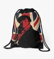 I Believe in Sherlock Holmes Drawstring Bag