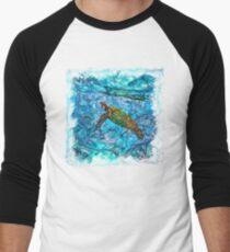 The Atlas of Dreams - Color Plate 234 Baseball ¾ Sleeve T-Shirt