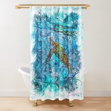 The Atlas of Dreams - Color Plate 234 Shower Curtain