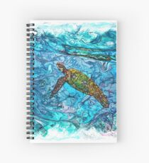 The Atlas of Dreams - Color Plate 234 Spiral Notebook