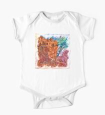 The Atlas of Dreams - Color Plate 235 Short Sleeve Baby One-Piece
