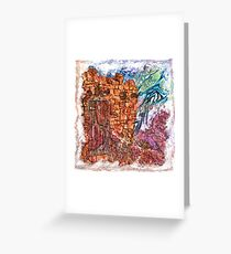 The Atlas of Dreams - Color Plate 235 Greeting Card
