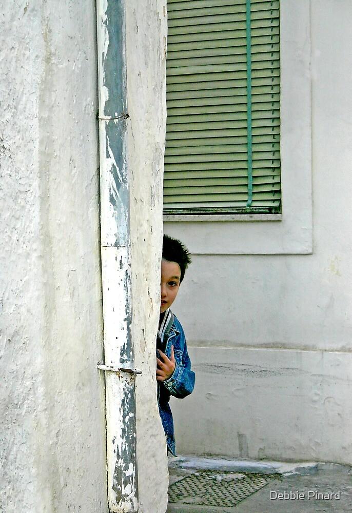 Hide and Seek - Maglie Italy by Debbie Pinard