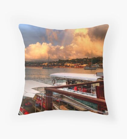 distance Throw Pillow