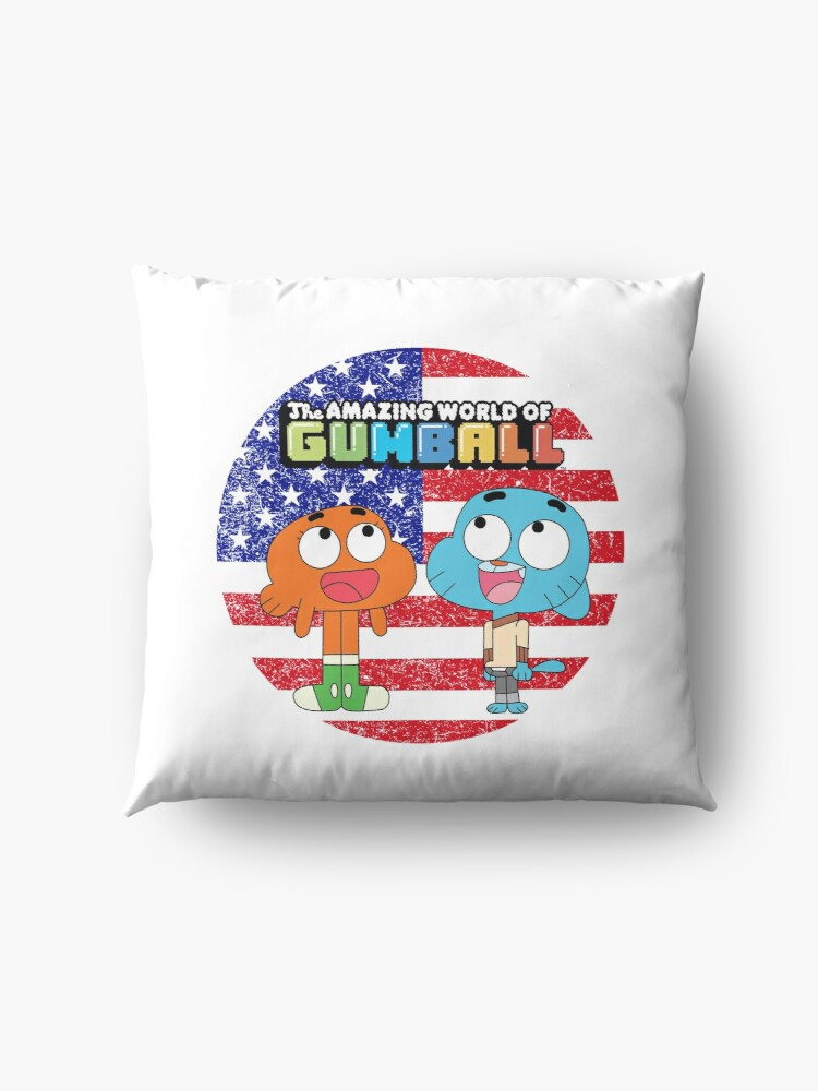 Alternate view of The amazing world of Gumball™, Gumball and Darwin Floor Pillow
