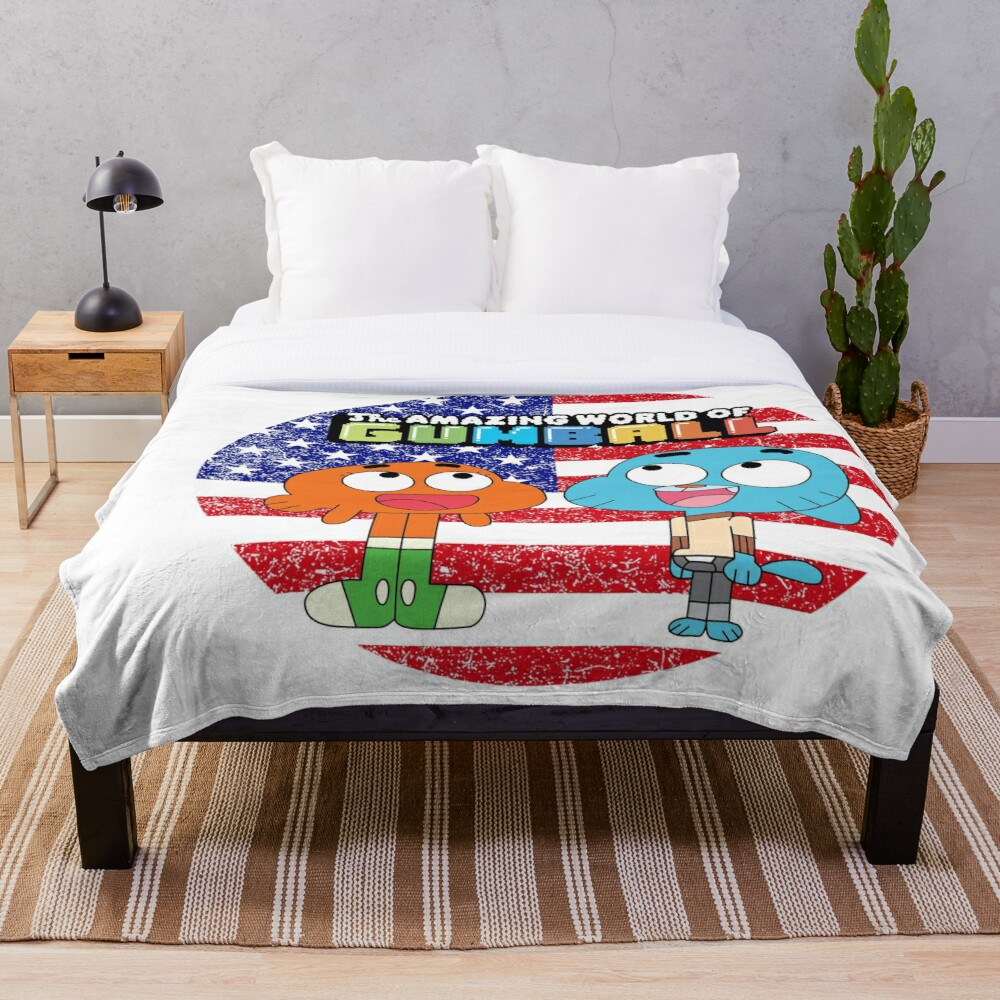 The amazing world of Gumball™, Gumball and Darwin Throw Blanket