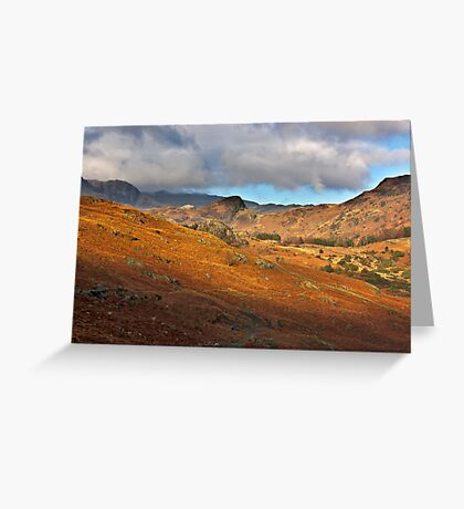 Langdale Valley Greeting Card