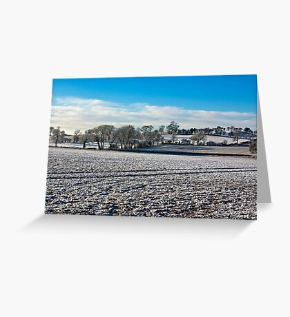 Country Views. Greeting Card