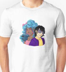 Regine and Yaki - Jemcon 2014 Unisex T-Shirt