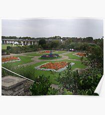 Sunken Gardens - Skegness Poster