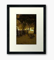 """Snowstorm"" Framed Print"