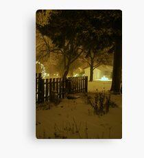 """""""Snowstorm"""" Canvas Print"""