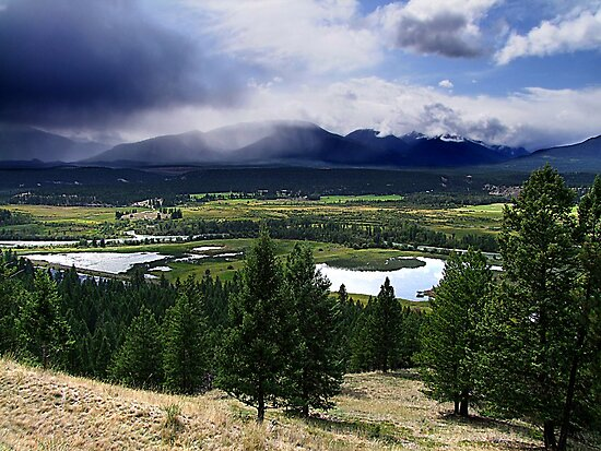 Kootenays Thunderstorm by George Cousins