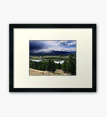 Kootenays Thunderstorm Framed Print