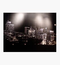 Greenville Skyline Photographic Print