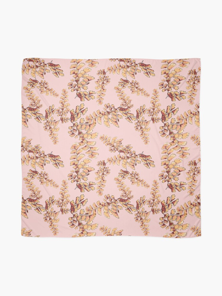 Alternative Ansicht von Goldene Blätter Muster Tuch