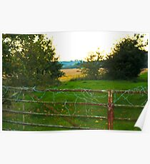 wired fence  Poster