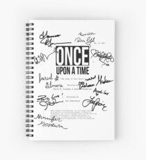 ouat script 620 Spiral Notebook