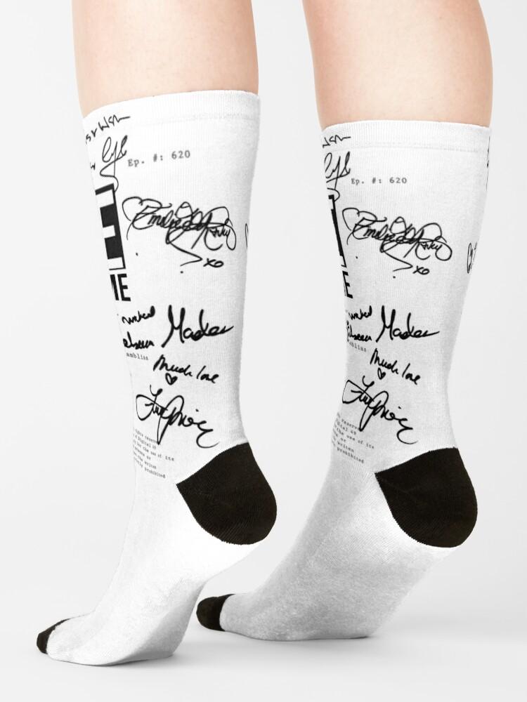 Alternate view of ouat script 620 Socks