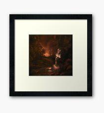 Evening Landscape Framed Print