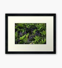 Blue War Bonnet Framed Print
