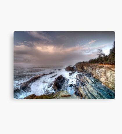 Shore Acres Northern View Canvas Print
