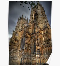 York Minster Cathedral  Poster