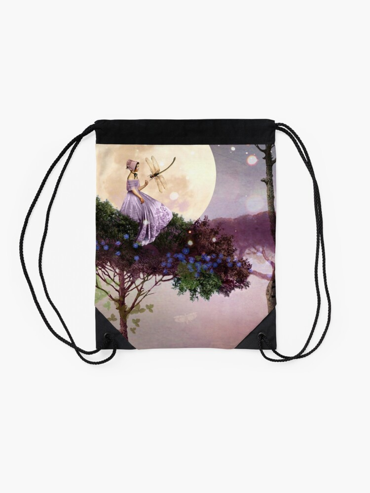 Alternate view of The Dragonfly Drawstring Bag