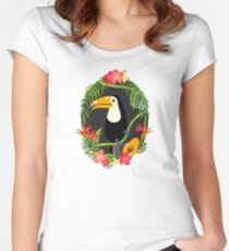Toucan Fitted Scoop T-Shirt