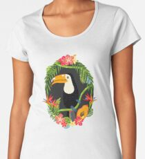 Toucan Premium Scoop T-Shirt