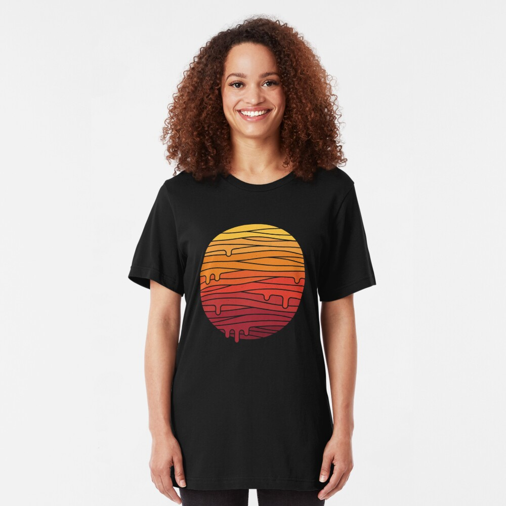 Heat Wave Slim Fit T-Shirt