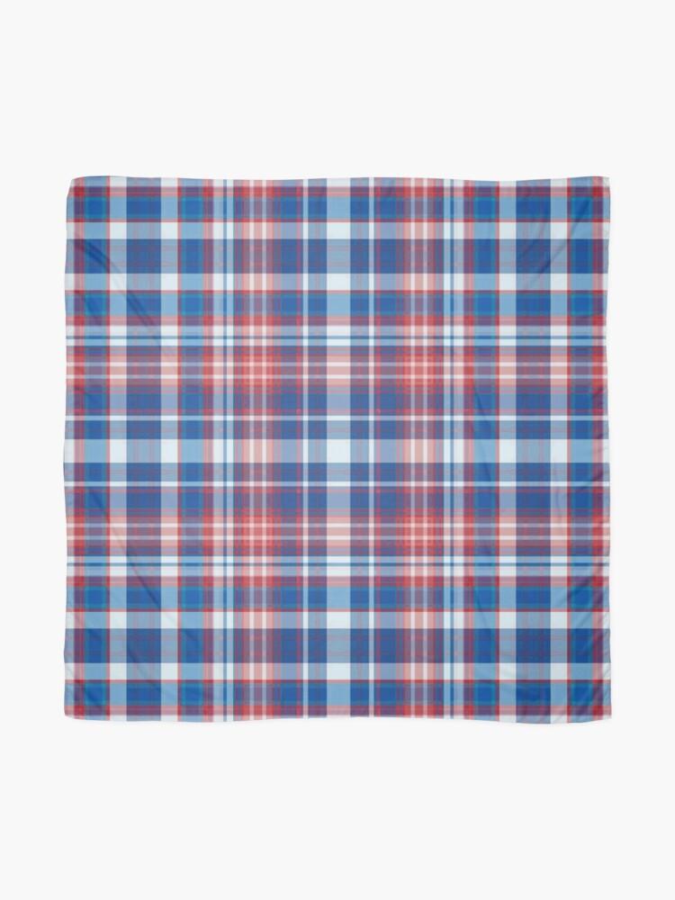 Alternative Ansicht von Rot, weiß und blau kariert Tuch