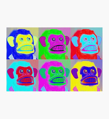Pop Goes the Jolly Chimp Photographic Print