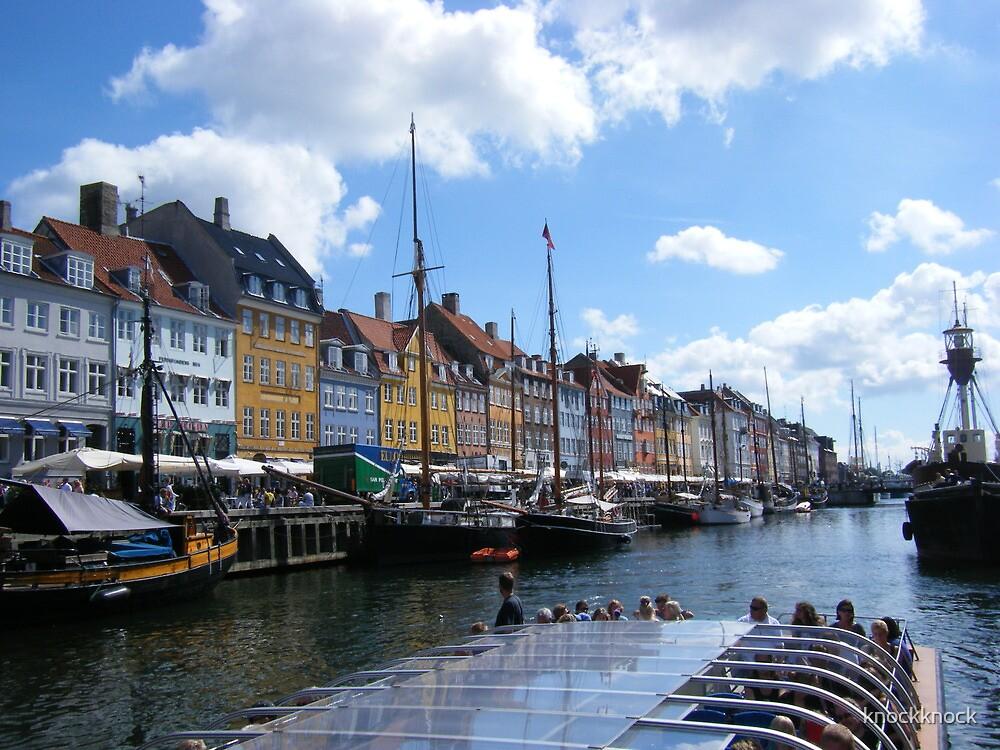 Copenhagen Nyhavn by knockknock