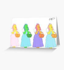 Technicolor Dorothy Grußkarte