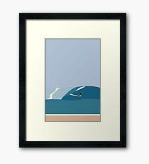 FORNØJELSE SURF Nr.03 Framed Print